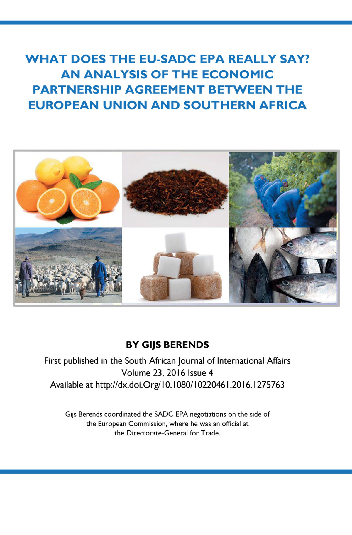 What does the EU-SADC EPA really say?