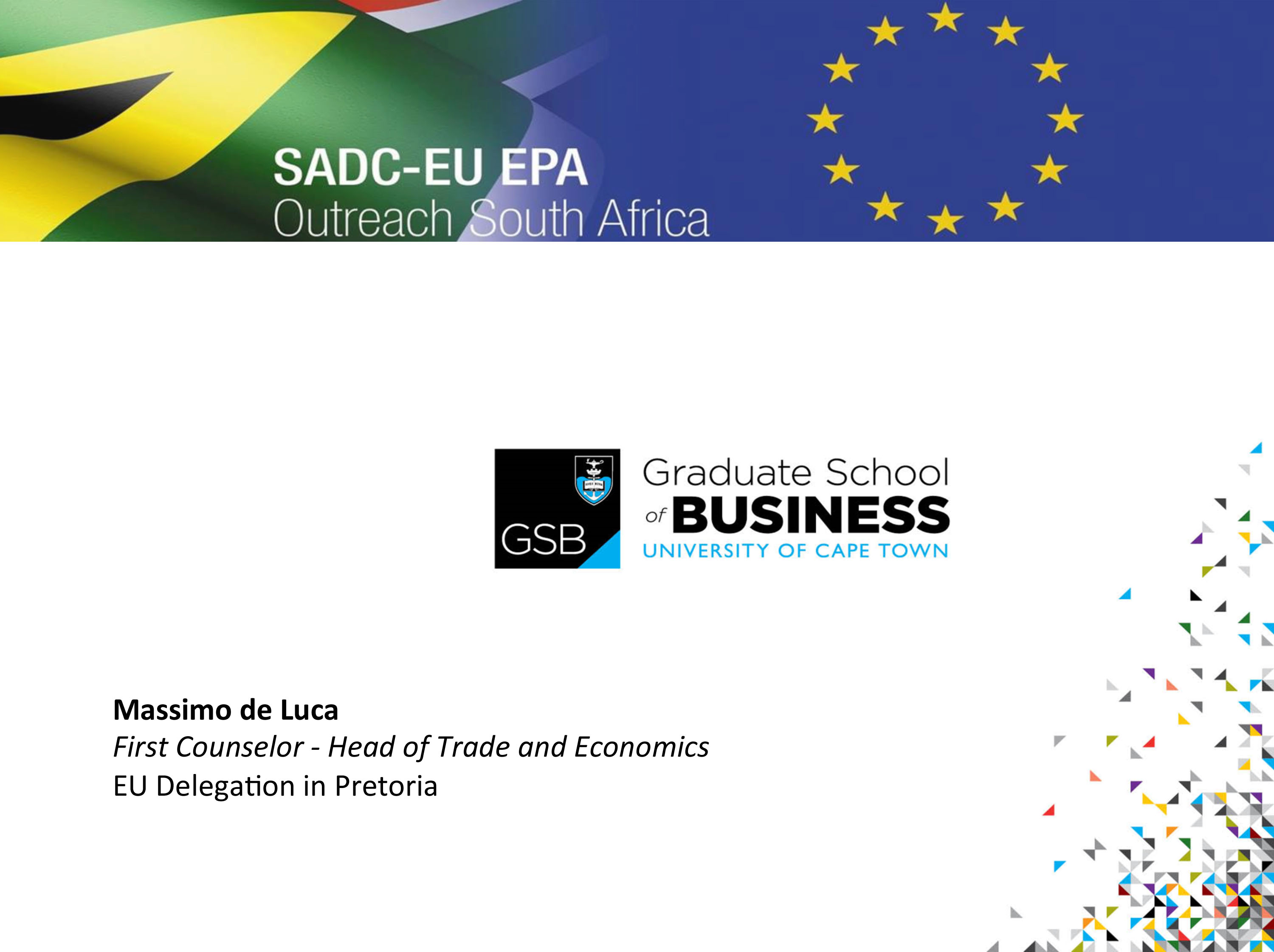 SADC INDUSTRLIASATION WEEK – How international trade and FDI contribute to regional value chains